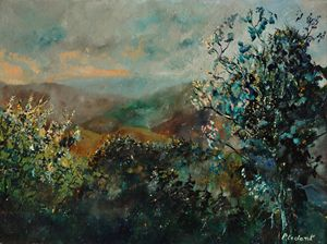 Valley semois - Pol Ledent's paintings