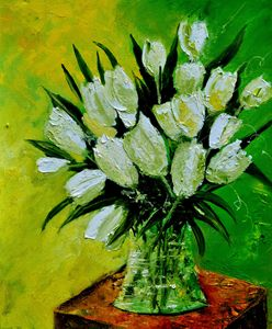 Tulips 56 - Pol Ledent's paintings