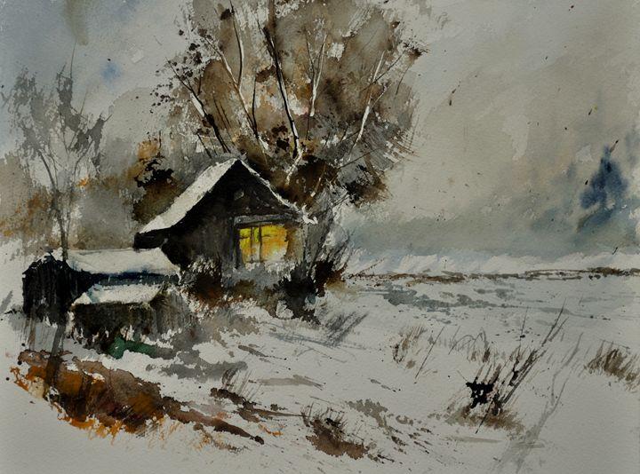 watercolor 413032 - Pol Ledent's paintings