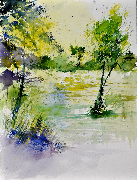 watercolor 413011 - Pol Ledent's paintings