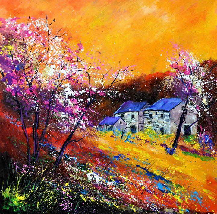 Spring 883111 - Pol Ledent's paintings