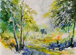 watercolor spring - Pol Ledent's paintings