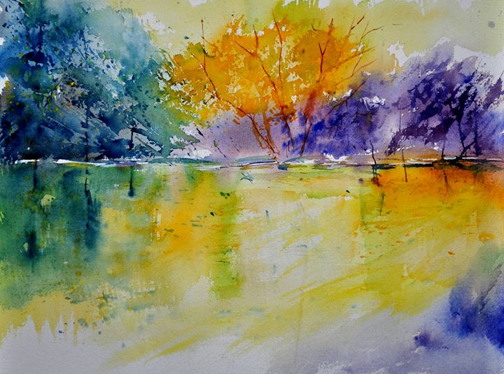 watercolor 219041 - Pol Ledent's paintings