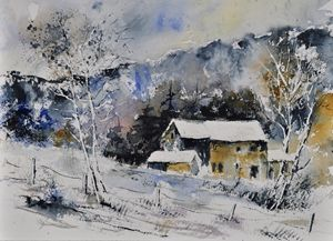watercolor 414031 - Pol Ledent's paintings