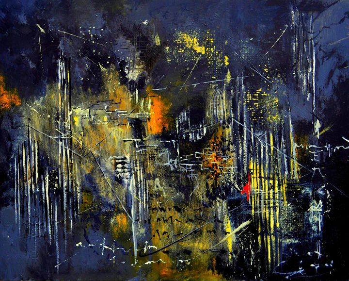 abstract 1841502 - Pol Ledent's paintings