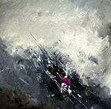 oil on canvas 40  x 40 cm