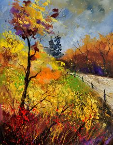 autumn - Pol Ledent's paintings