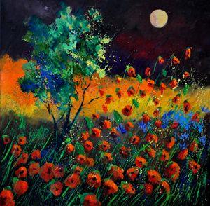 Poppies 7741 - Pol Ledent's paintings