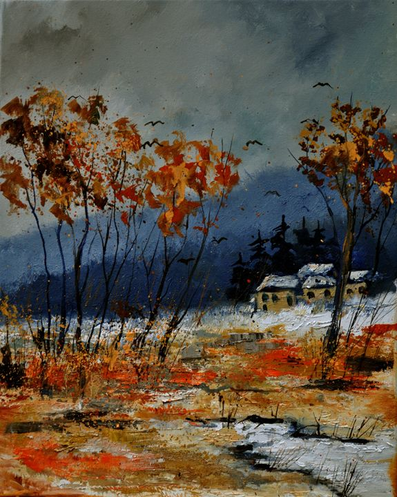 winter 4541 - Pol Ledent's paintings