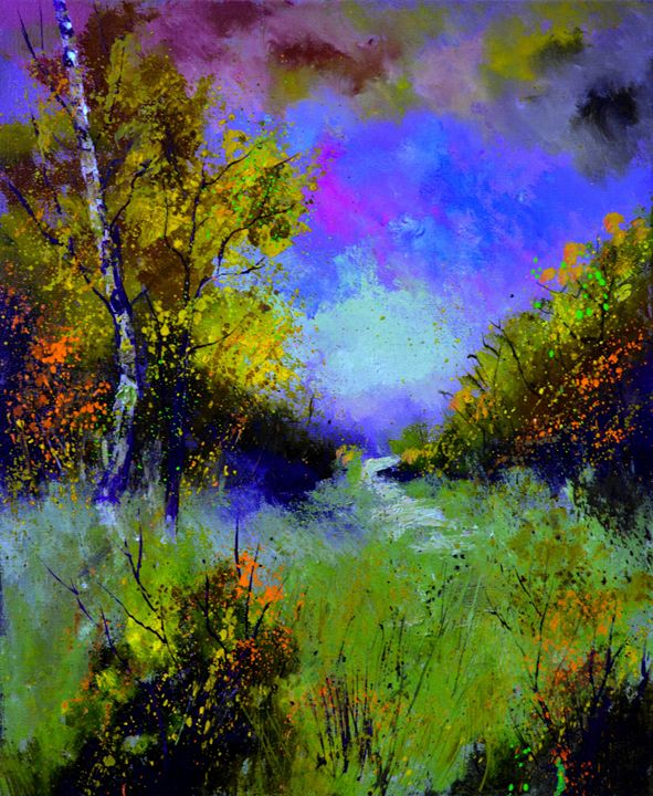 in the wood 565110 - Pol Ledent's paintings