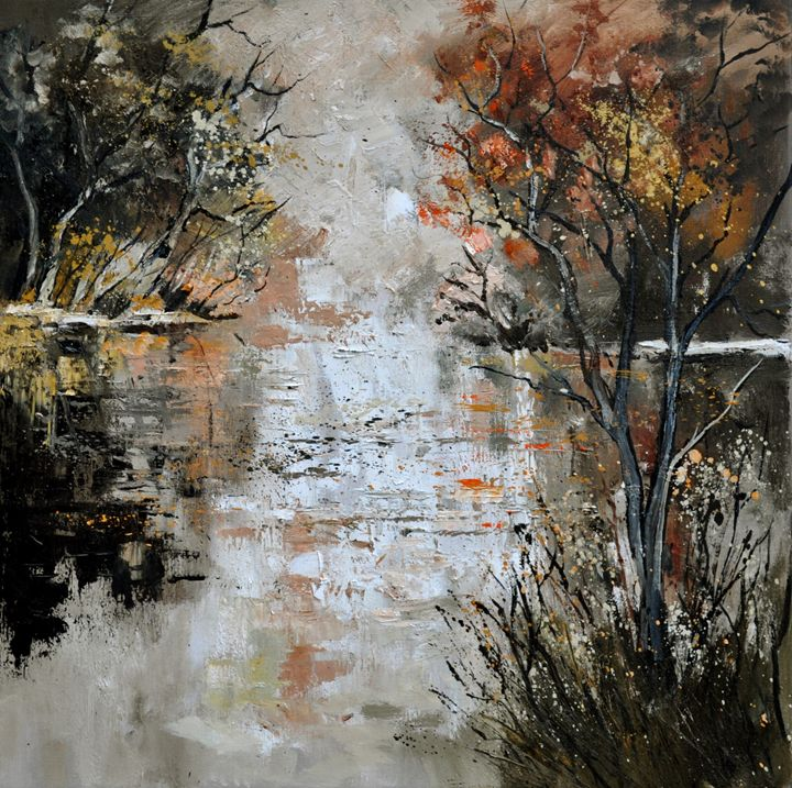 Pond 885110 - Pol Ledent's paintings