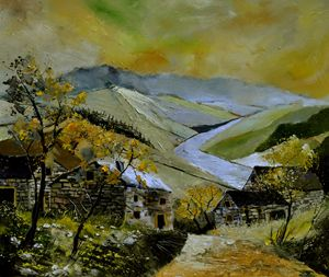 Ardenne 675110 - Pol Ledent's paintings