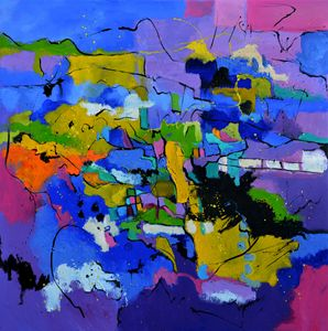 colourful abstract 8861 - Pol Ledent's paintings