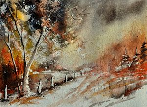 watercolor 219051 - Pol Ledent's paintings