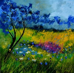 Epilobiums - Pol Ledent's paintings