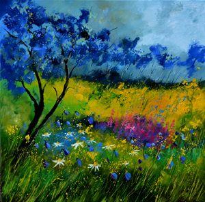 Epilobiums - Pol Ledent's paintings
