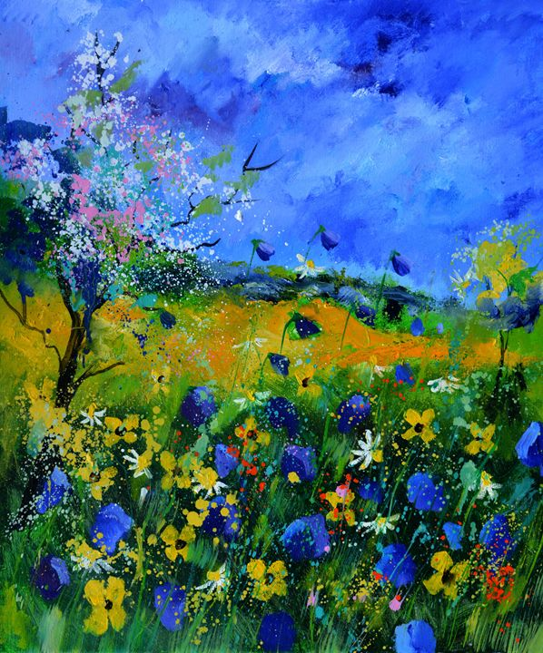 wild flowers 677150 - Pol Ledent's paintings