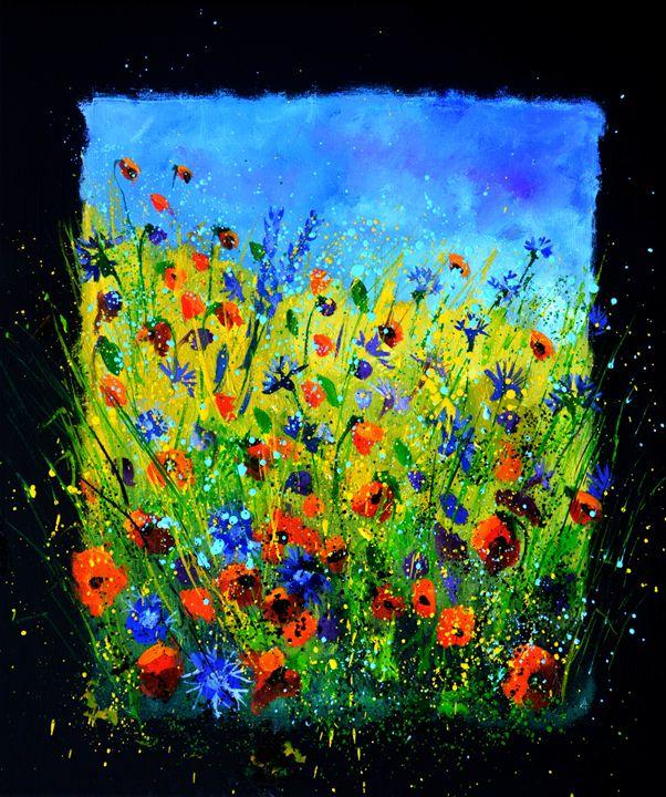 wild flowers 676140 - Pol Ledent's paintings