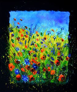 wild flowers 676140 - Pol Ledent's paintings