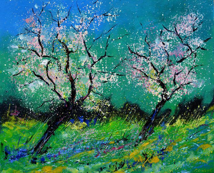 Full spring - Pol Ledent's paintings
