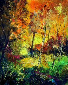 Autum, 562111 - Pol Ledent's paintings