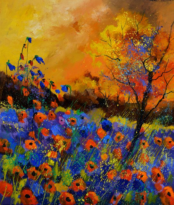 Poppies 676140 - Pol Ledent's paintings