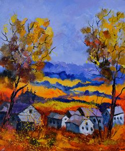 autumn 675101 - Pol Ledent's paintings