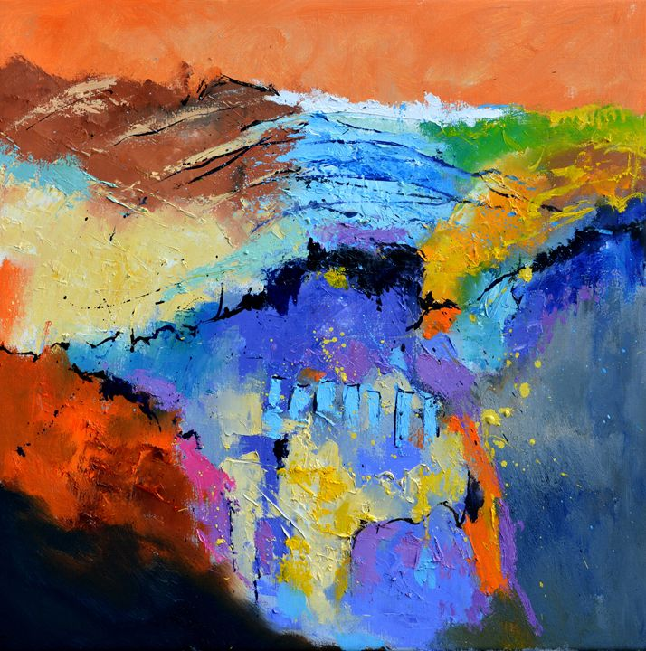 abstract 8871 - Pol Ledent's paintings