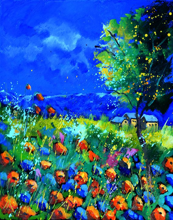 poppies 454170 - Pol Ledent's paintings