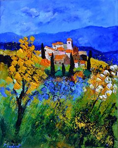 Provence 692 - Pol Ledent's paintings