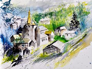 watercolor celles - Pol Ledent's paintings