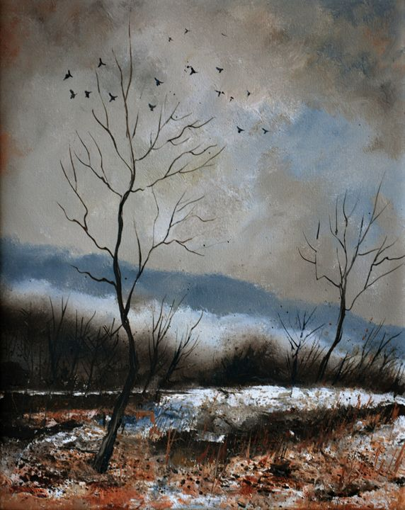 winter 4571 - Pol Ledent's paintings