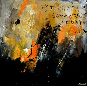 Ode to a grecian wall - Pol Ledent's paintings