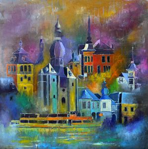 Magic city - Pol Ledent's paintings