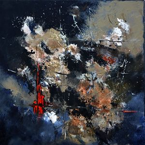 red signal - Pol Ledent's paintings