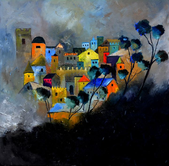 castle memories - Pol Ledent's paintings