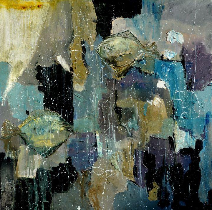 two tarbots - Pol Ledent's paintings