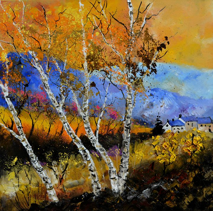 autumn 886130 - Pol Ledent's paintings