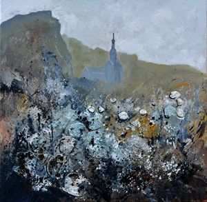 abstract urban landscape - Pol Ledent's paintings