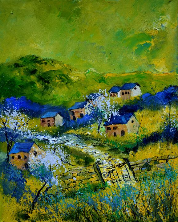 Spring 455120 - Pol Ledent's paintings