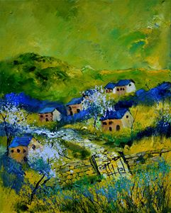 Spring 455120 - Pol Ledent's paintings