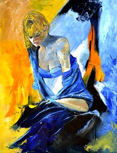 Young girl 513081 - Pol Ledent's paintings
