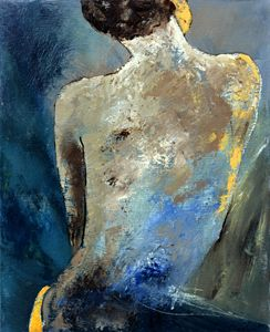 Nude 45438 - Pol Ledent's paintings