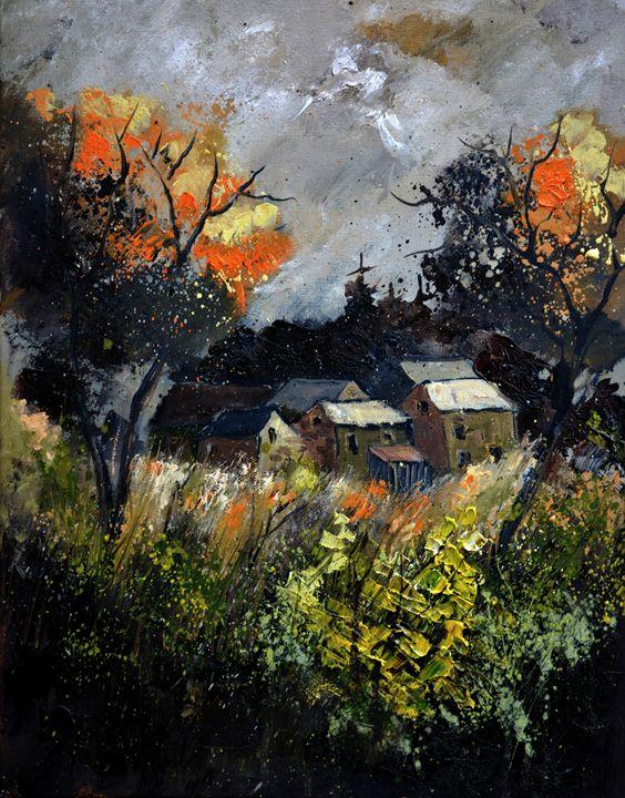 Autumn 455111 - Pol Ledent's paintings
