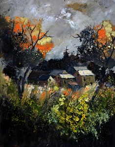 Autumn 455111 - Pol Ledent's paintings