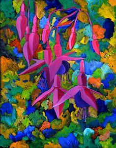 Fuschia 4551 - Pol Ledent's paintings