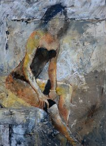 Nude 4551 - Pol Ledent's paintings
