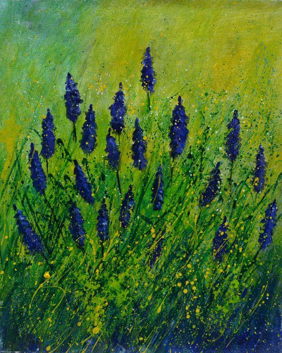 Muscaris - Pol Ledent's paintings