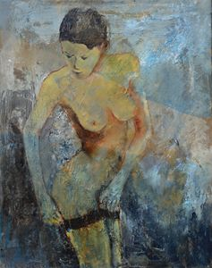 young girl 455160 - Pol Ledent's paintings