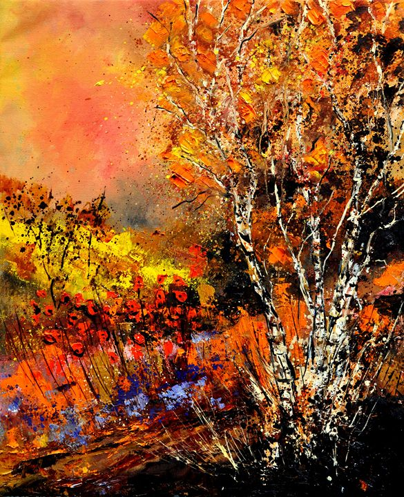 Autumn 682110 - Pol Ledent's paintings